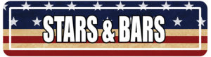 Stars & Bars Street Signs for college programs