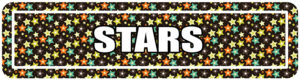 Stars Street Signs for college events