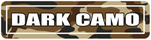 Dark Camo Street Signs for college events