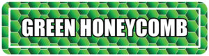 Green Honeycomb Street Signs for college events