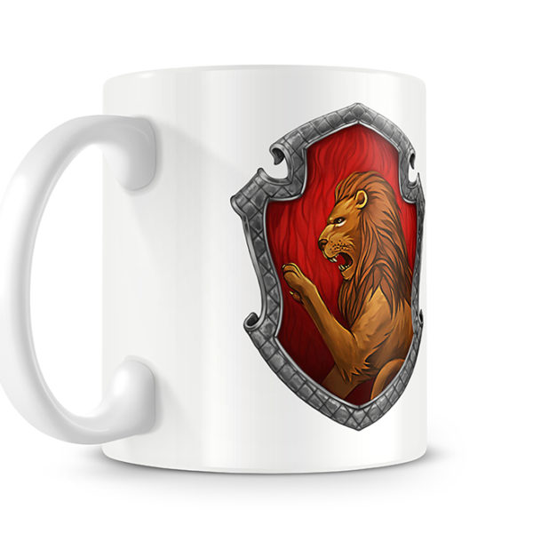 Harry Potter Style Gryffindor Photo Mug