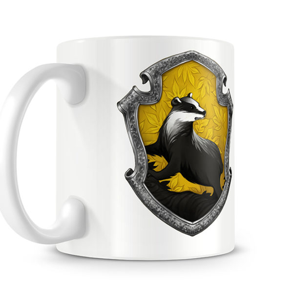 Harry Potter Style Hufflepuff Photo Mug