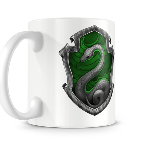 Harry Potter Style Slytherin Photo Mug