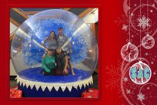 Human Snow Globe - UNO - LeeAnne and company