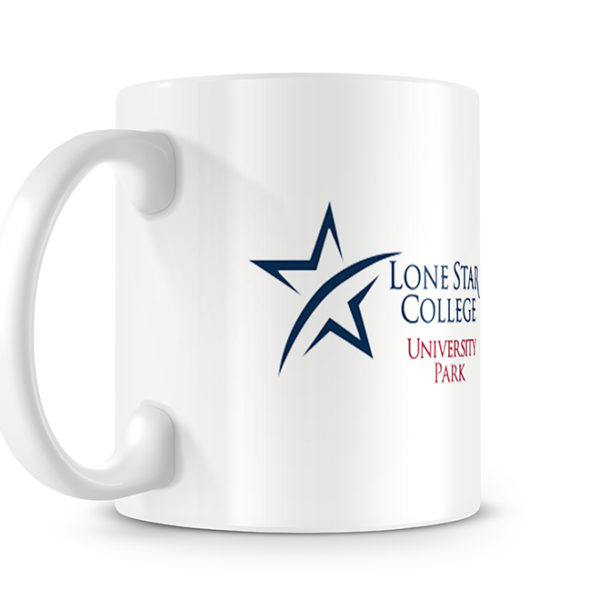 Lone Star College Photo Mug - Logo Side