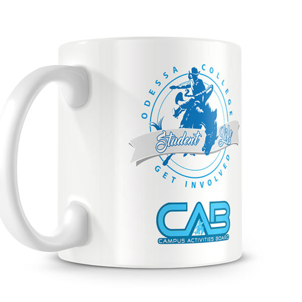 Odessa College Photo Mug - Logo Side