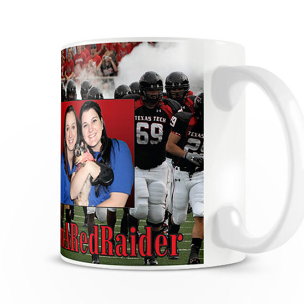 Texas Tech Red Raiders Custom Mug Design