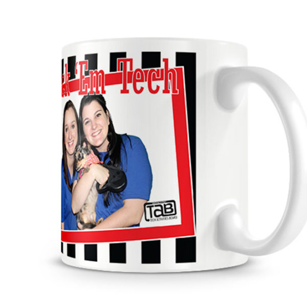Texas Tech Photo Mug Photo Side