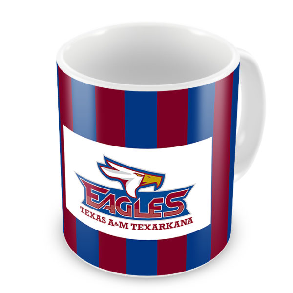 TAMUT Eagles Photo Mug - Logo Side