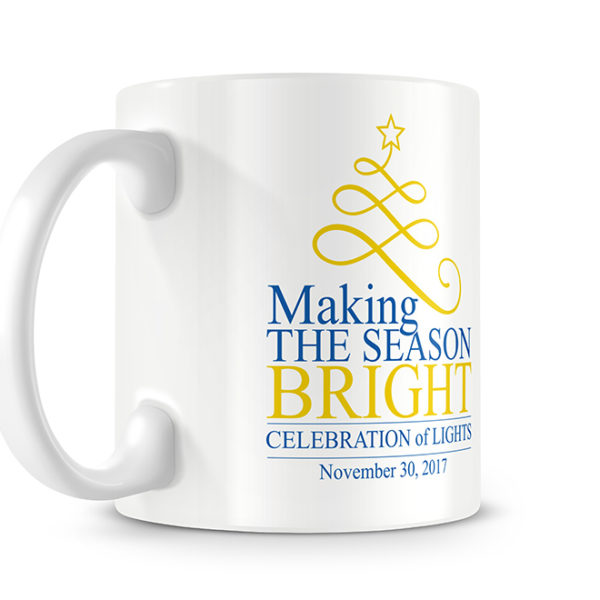 Southern Arkansas University Making the Season Bright Mug