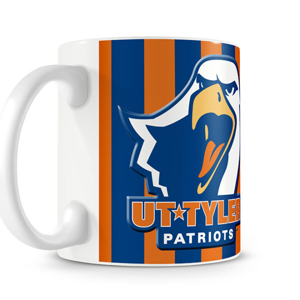 UT Tyler Mug Logo Side of Photo Mug