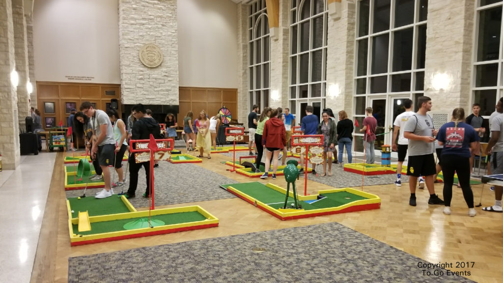 Mini Golf at Southwestern University