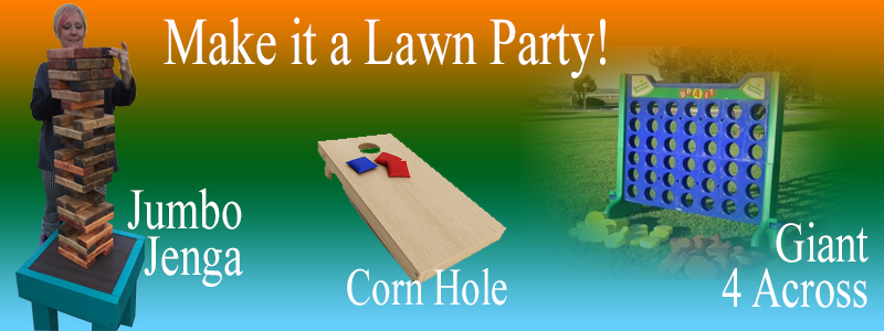 Make it a lawn party!