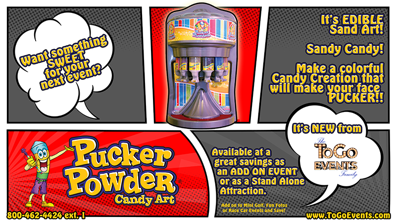 Pucker Powder from To Go Events