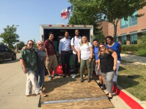 UNT Dallas Hurricane Harvey Relief team