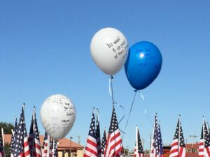 Walk of Gratitude Balloons