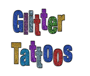 Glitter Tattoos by Kim