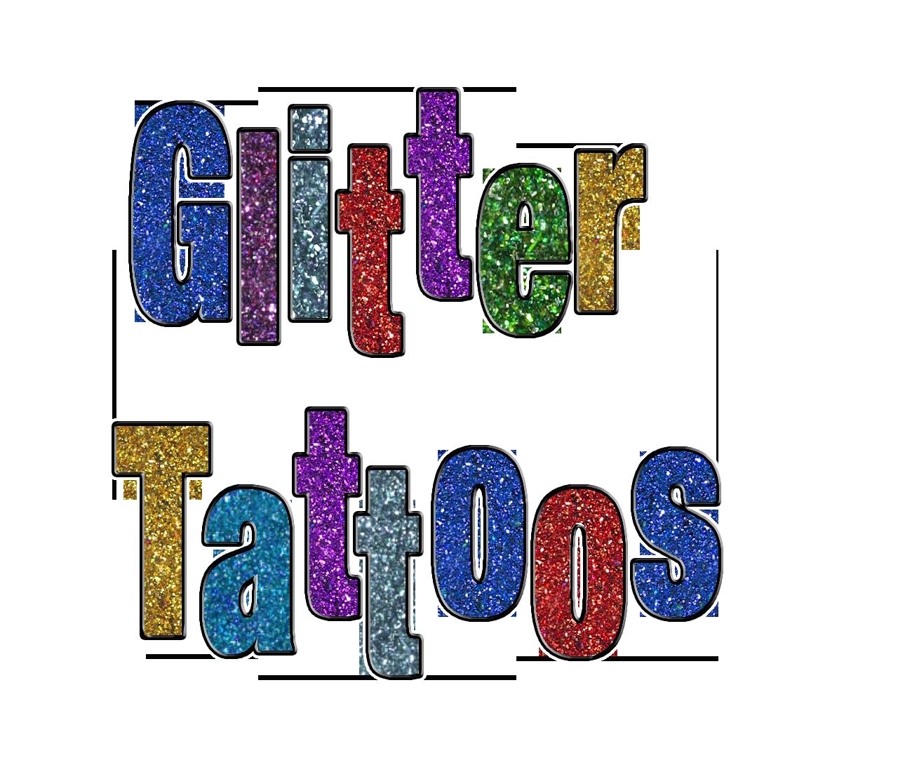 Glitter Tattoos by Kim