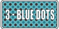 3 - Blue Dots