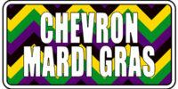 Chevron - Mardis Gras