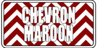 Chevron - Marroon