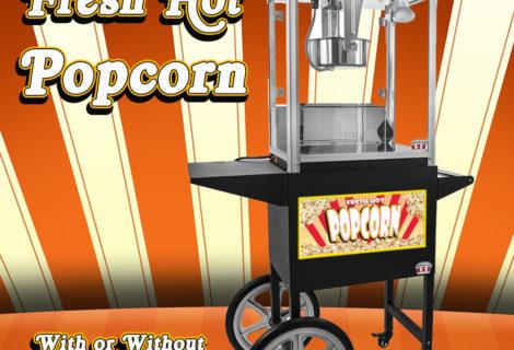 Popcorn Machine & Popcorn