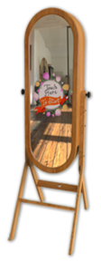 Retro Magic Mirror Photo Booth