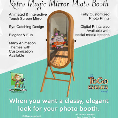 Retro Mirror Flier