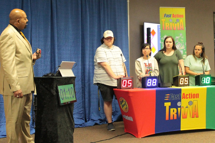Fast Action Trivia Game Show for College Events