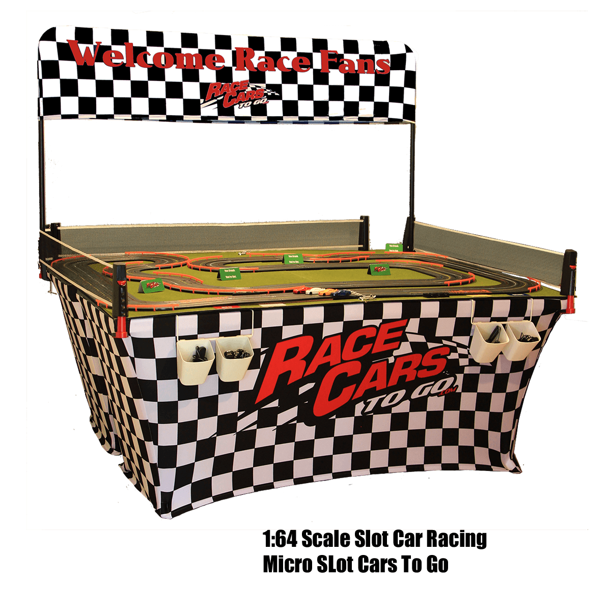 Micro Slot Car Racing at your events