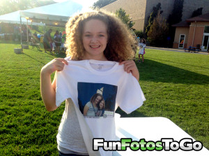 Photo T-Shirts for College Events