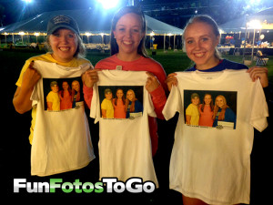 Photo T-Shirts for College Novelty Events