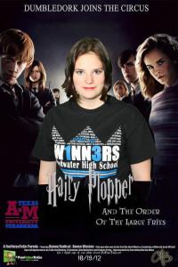 Sample-Movie Parody Poster