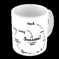 1-Motivational Mug Sample - think to Success Map