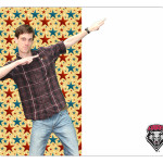 Stars Custom College Photo Dry Erase Board Sample LG
