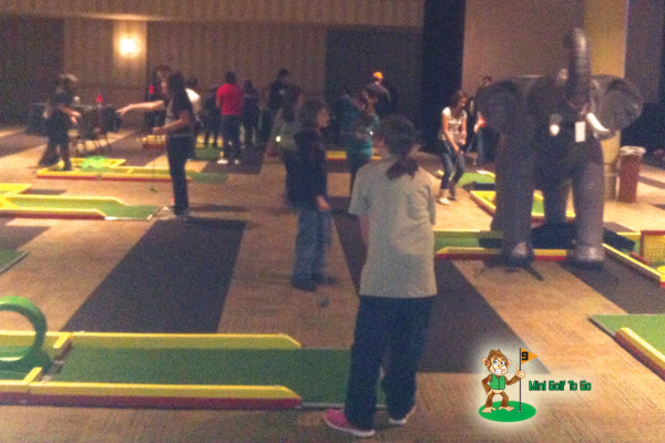 Mini Golf To Go - Full Course - Opening Night