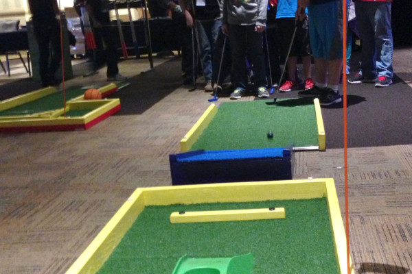 Mini Golf To Go - Hole In One Challenge - Branded