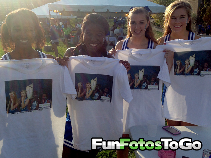 Photo T-Shirts for College Programming Events