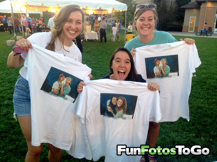 Photo T-Shirts for Events