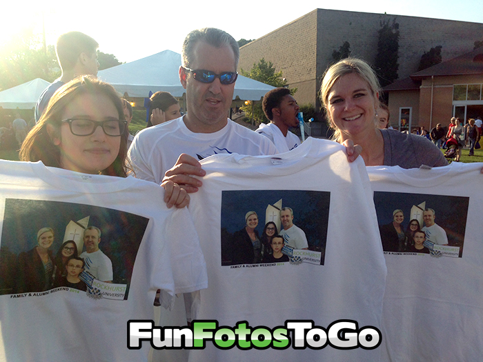 Photo T-Shirts for Family Weekend Events