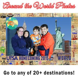 Around the World Photos Tile