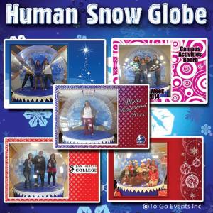 Human Snow Globe Tile
