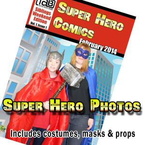 Super Hero Photos Tile