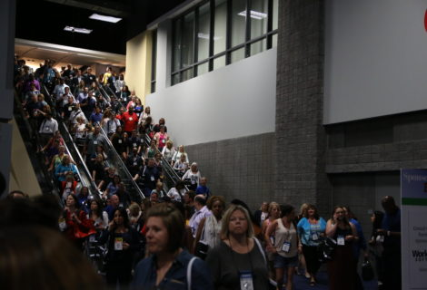 How do you stop trade show traffic at your booth?