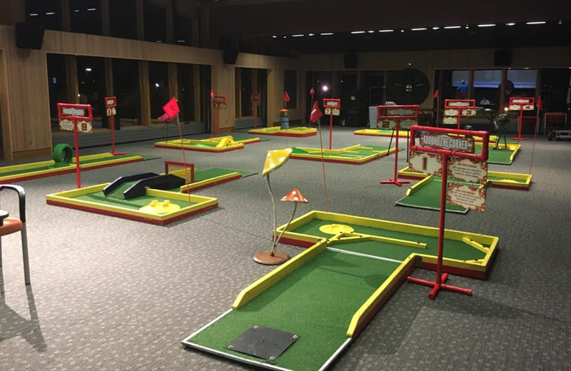 Car dealerships can use mini golf for family friendly promotions